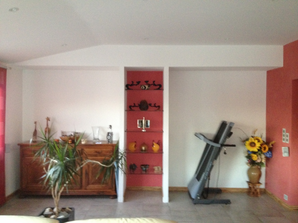 Aménagement d'étagère Bergerac - Avant intervention