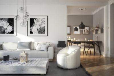 Les 5 règles à connaître pour aménager son salon - Simon Mage