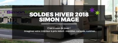 Soldes hiver 2018 - Simon Mage - Bannière