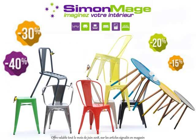 Foire aux chaises de juin 2018 - Simon Mage