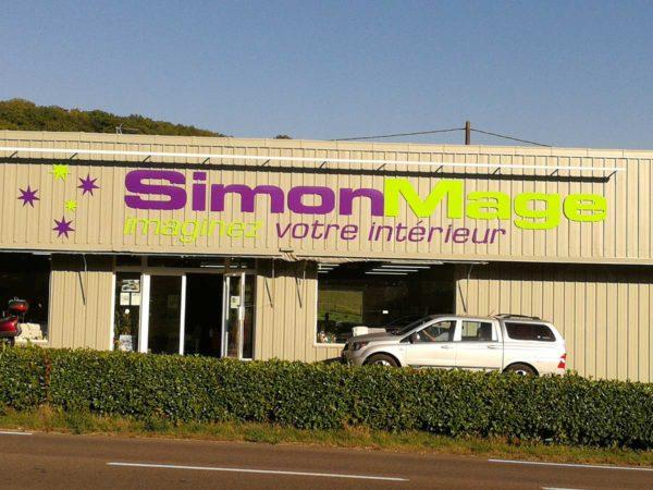 Rénovation de notre magasin Simon Mage