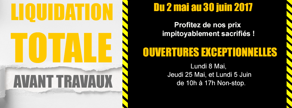 Liquidation totale mai juin 2017 - Simon Mage