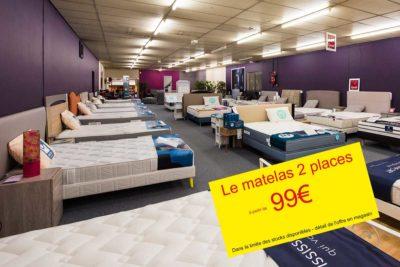 PROMO - Matelas pas cher à partir de 99€