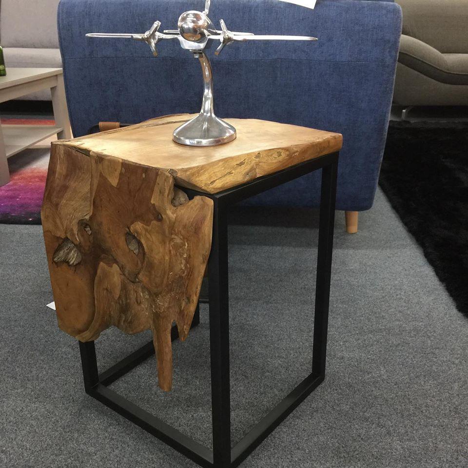 Meubles en teck Simon Mage - Table chevet